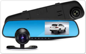 Зеркало видео регистратор с камерой заднего хода за 1650р при условии установки комплекта в нашем сервисе.