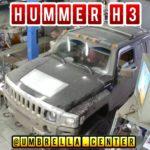 Hummer H3 установили громкие клаксоны